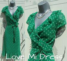 NEXT - WW2 40's style Polka Dot Dance Tea Dress 12 EU40