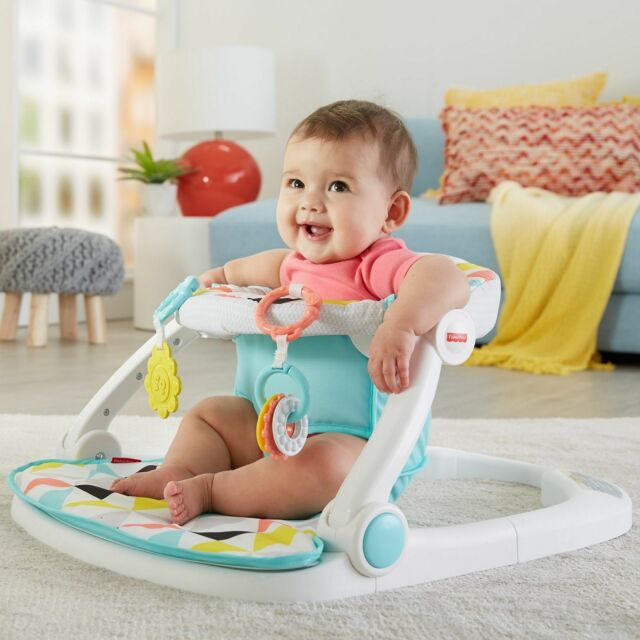 Baby Seat Nursery Floor Chair Sit Me Up Citrus Frog By Fisher For