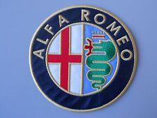 TOPPA ALFA ROMEO PATCH RICAMATO TERMOADESIVO DIAM CM 11
