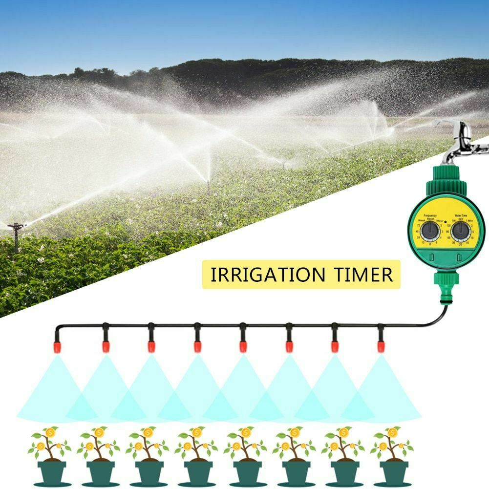 Garden Watering Timer Electronic Automatic Irrigation Controller Outdoor System