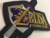 Snes The Legend Of Zelda Ocarina Of Time 4 X 4.5 Patch Super Nintendo Rare
