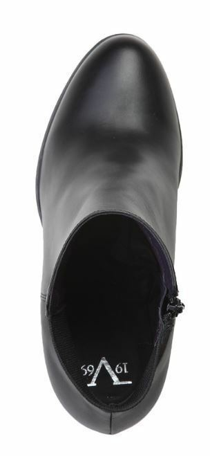Versace V1969 SYLVIE schwarz 37 Echtleder Stiefelette Gr 36 37 schwarz 38 39 40 818473