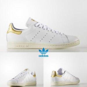 La imagen se está cargando Adidas -Stan-Smith-zapatillas-deportivas-de-mujer-de- 09f1d780b