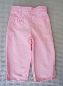 NEXT-Girls-Pink-Organic-Cotton-Straight-Leg-Cropped-Summer-Trousers-4-5-years