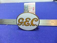 vtg badge GEC  general electric works staff lighting radio radar ww2 home front