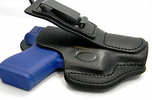 Details about TUCK TUCKABLE BLACK LEATHER IWB CCW CLIP HOLSTER w/ COMFORT  TAB - WALTHER PPS M2