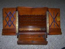 19c Victorian Oak Desk Top Stationary Box