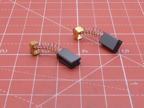 COMPATIBLE CARBON BRUSHES FOR AEG HEDGE TRIMMER SIZE 5mm X 8mm LENGTH 15mm
