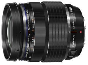Olympus M.Zuiko Digital Pro 12-40mm f/2.8 AF ED Zoom Lens for Micro Four Thirds Cameras - Black