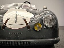 PORSCHE 356 SPYDER   16 X 12 PRINT VINTAGE RACE CAR
