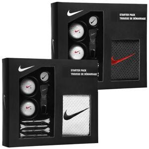 Nike Golf Set Starter Kit Pack Zubehör Golfset Tees Golfbälle Pitch Markierer