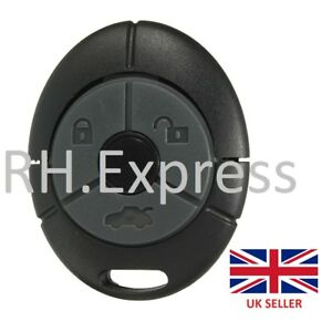 Accessories Remote Key Fob Shell for Rover MG TF ZR ZS 25 45 Streetwise 3 Buttons Car Electronics & Accessories