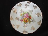 Vintage Rare Royal Stuart Bone China pin dish  Gold Spencer Stevenson 50s
