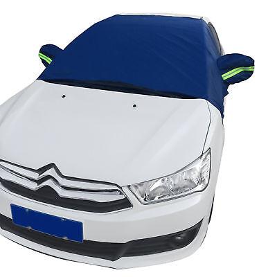 1Wasserdichte Auto Abdeckung Windschutzscheibe Half Top Schutz 145 x 185 x 65 cm