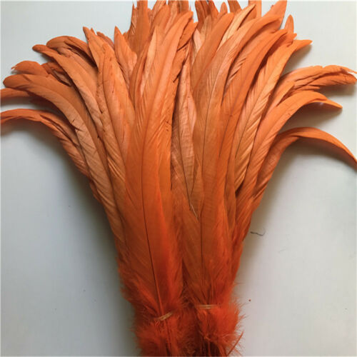 Wholesale 10//50//100 pcs beautiful rooster tail feathers 12-16inches//30-40cm DIY