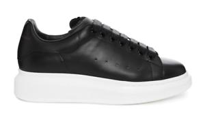 Details zu Alexander Mcqueen Men 441631WHGP51000 Oversized Sole Sneakers Shoes Black 39-42