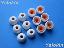 12pcs Small White Replacement  Eartips buds for Sony MDR-XB90EX Headphones
