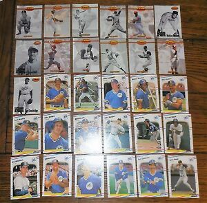Details About 300 Card Lot Of Collectable Baseball Cards Topps Fleers Other Brands