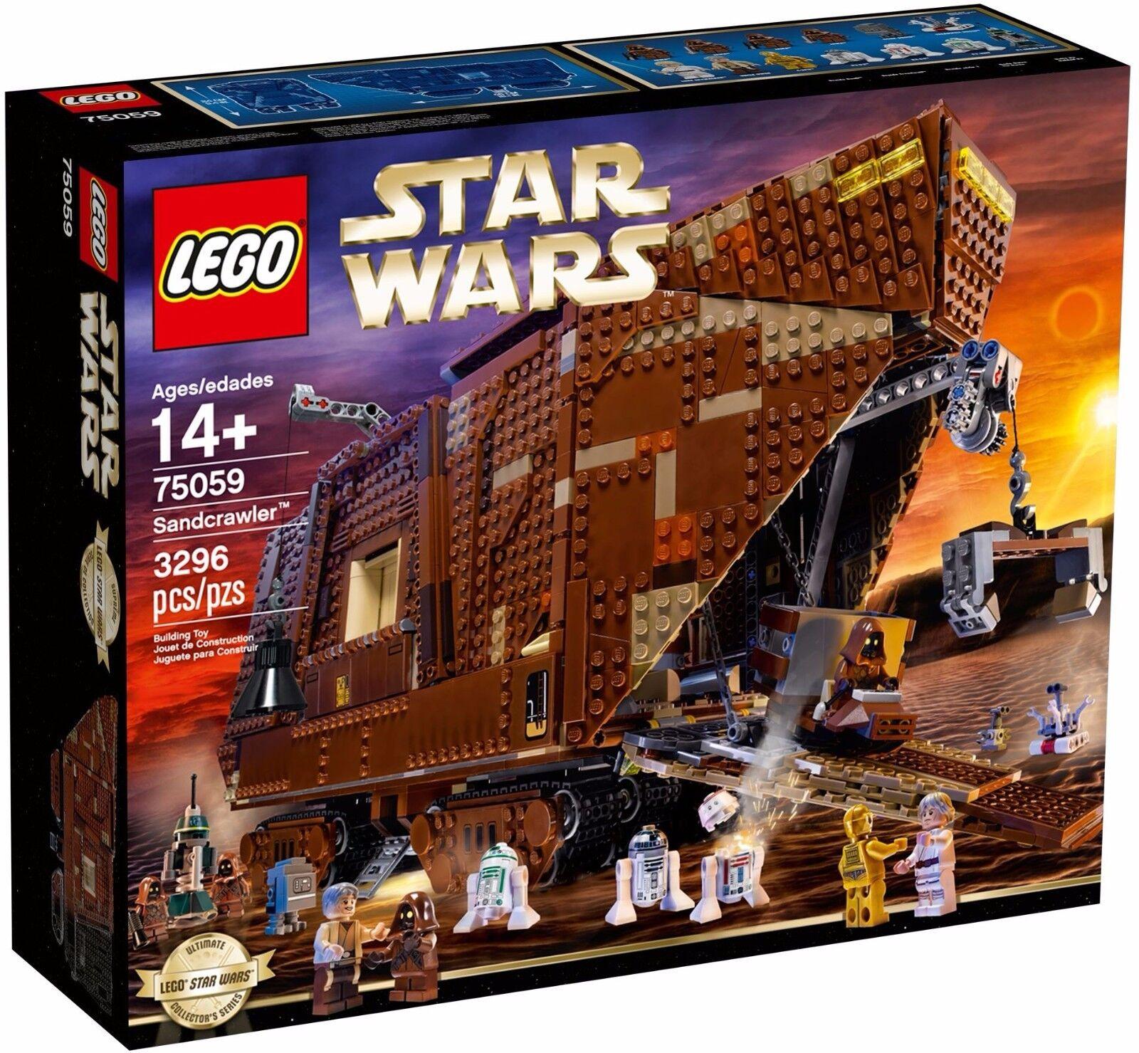 LEGO Star Wars 75059 UCS Sandcrawler - Brand New & Sealed Free UK Delivery