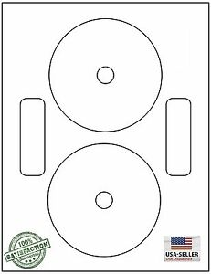 DVDNTF-200-CD-DVD-Labels-Neato-Compatible-Full-Face-100-Sheets