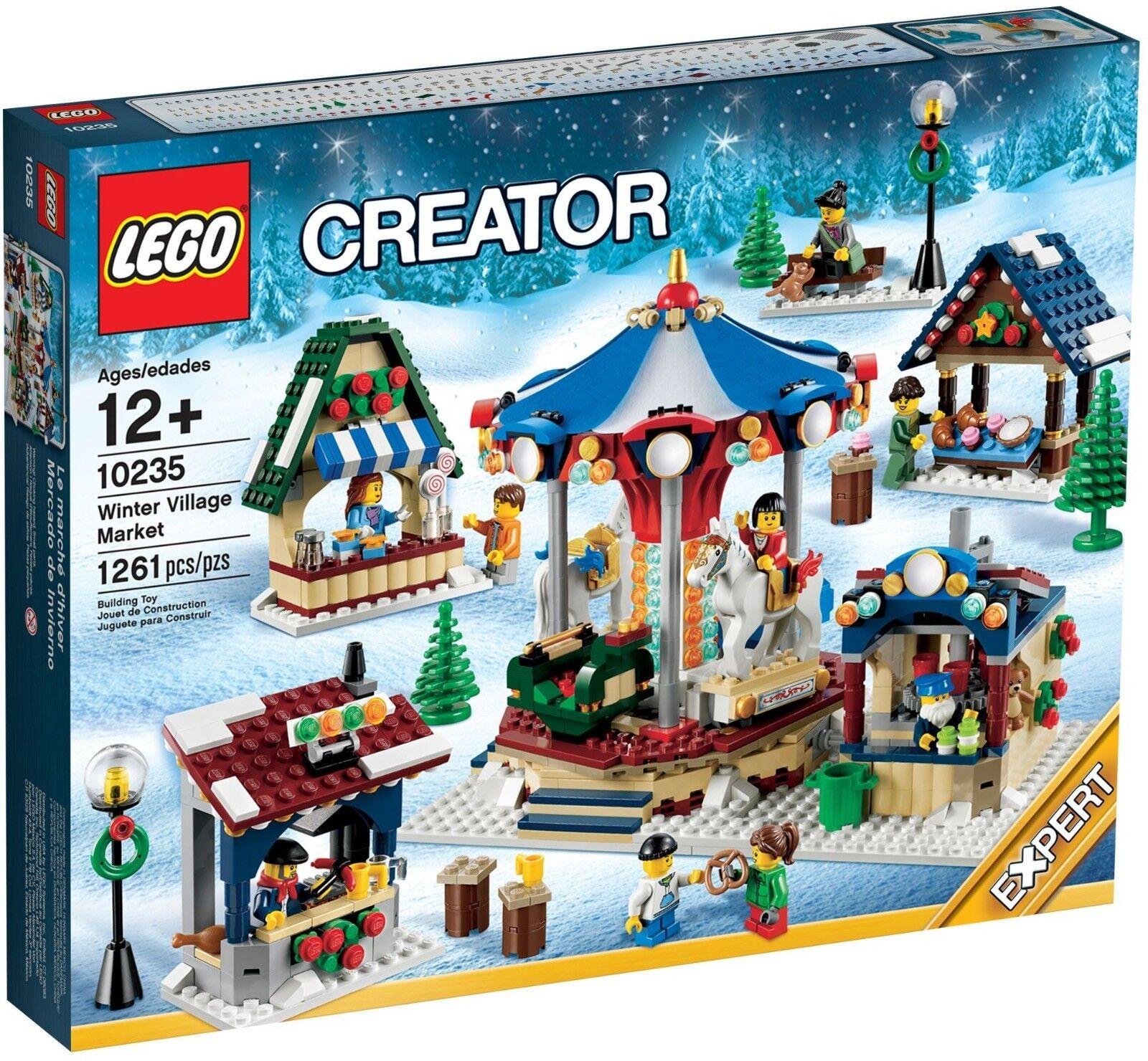 LEGO 10235 VINTER VILLAGE MARKNADSFÖRARE NY SEAL Pensionerad Snabb sändning