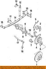Jeep CHRYSLER OEM 85-86 CJ7 Front Bumper-Deflector J5762341
