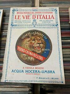 LE-VIE-D-039-ITALIA-ANNO-XXXII-N-11-NOVEMBRE-1926-TOURING-CLUB-ITALIANO