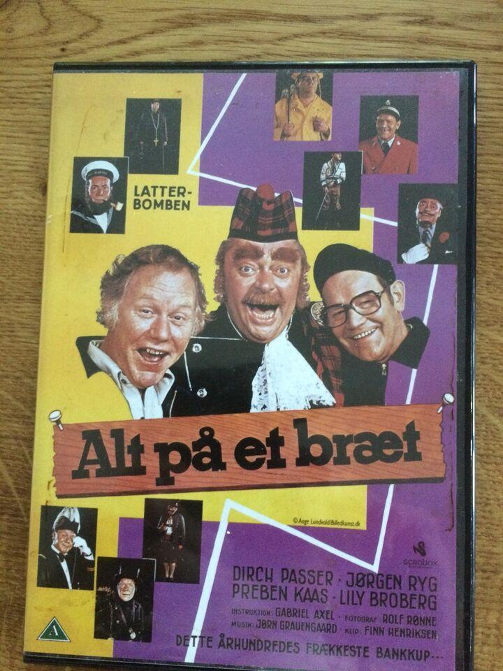 Alt på et bræt, DVD, komedie