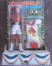 """Vintage 1976 Muhammad Ali """"The Champ"""" Mego Action Figure Doll - New in Package!"""