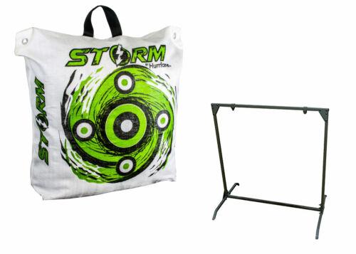 Hurricane 600 FPS High Contrast Archery Bag Target /& 30 Inch Bag Target Stand