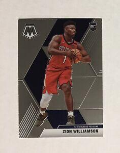 19-20-Mosaic-Zion-Williamson-209-VARIATION-SP-RC-MINT-Pelicans-Rookie