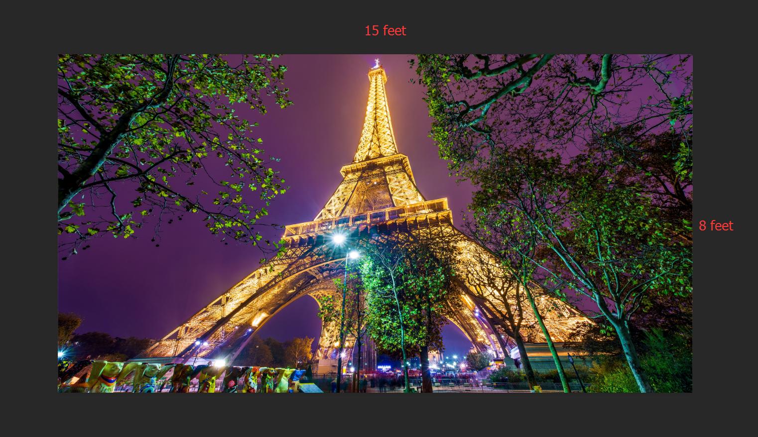 3D Eiffel Tower 417 WallPaper Murals Wall Print Decal Wall Deco AJ WALLPAPER