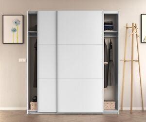 Image Is Loading Arc 2 Door Sliding Wardrobe Closet 150cm Large
