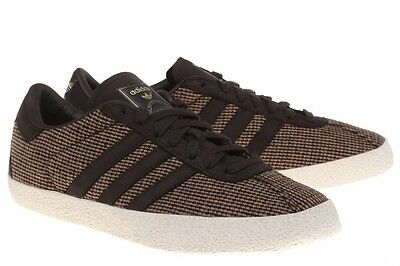 Abrumador Preciso Mierda  ADIDAS ORIGINALS GAZELLE 70'S TWEED MENS TRAINERS BROWN UK SIZE 6.5 - 10.5  | eBay