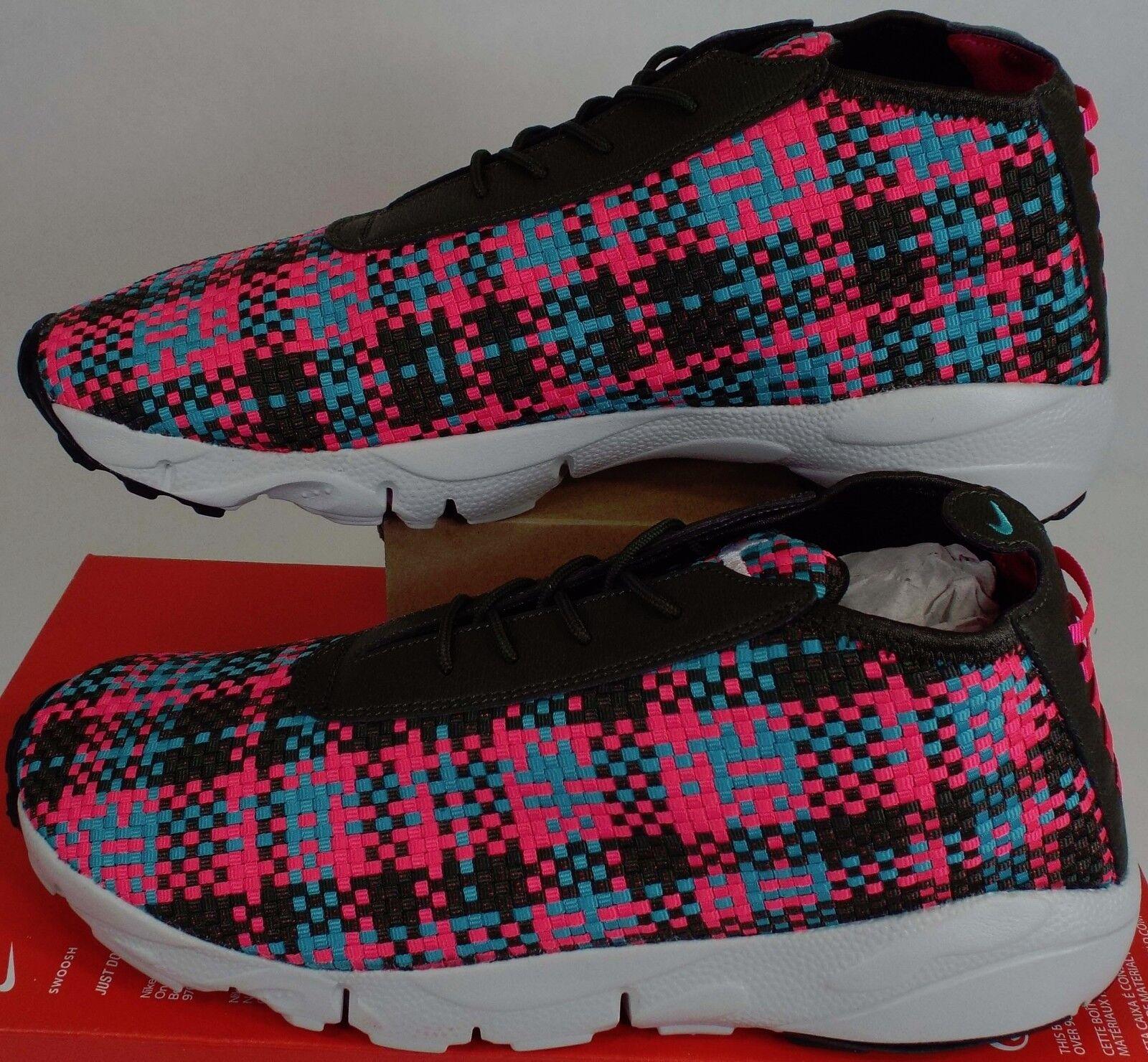 New Hommes 13 NIKE Air Footscape Desert Chukka Bottes Woven Chaussures  180 652822-300