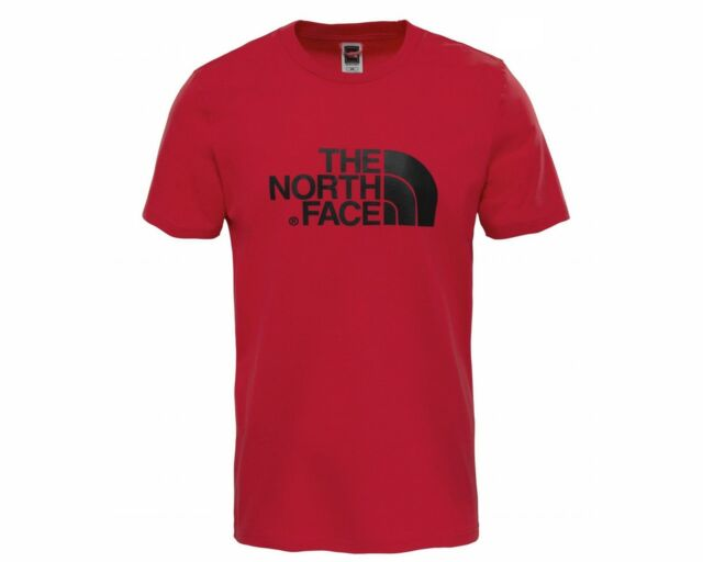 The North Face T92TX3619 Crew Neck Mens T-Shirt Cardinal Red