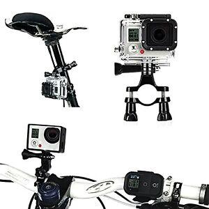 Bike Motorcycle 1x Handlebar Mount Holder Clamp Motorbike For GoPro Hero 5//4//3