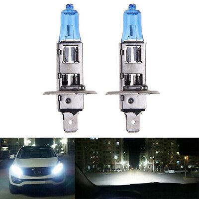 2×12V 200W  H1 6000K Headlight White Car Driving HOD Xenon Bulb Lamp Super Light