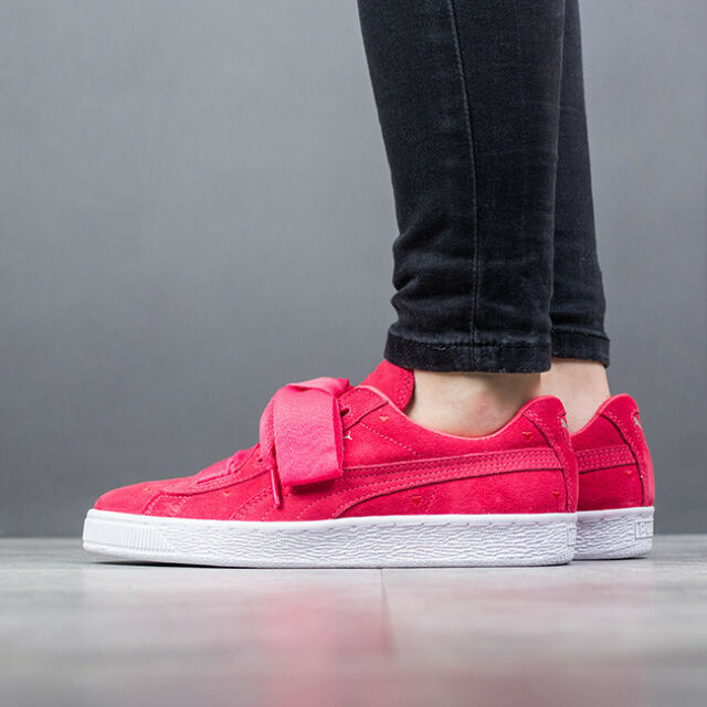 dc21616bd23a Buy PUMA Suede Heart Valentine Jr SNEAKERS Girls Low Boot Kids Pink ...