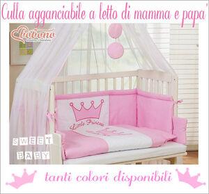 Culla neonato agganciabile al letto di mamma pap disponibile in vari colori ebay - Culla neonato da attaccare al letto ...