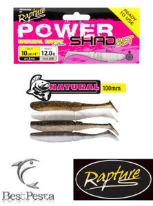 RAPTURE-POWER-SHAD-SET-NATURAL-100mm-confezione-da-3-pezzi