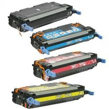 HP 501A, 502A (Q6470A, Q6471A, Q6472A, Q6473A) Toner Cartridge Set for HP 3600