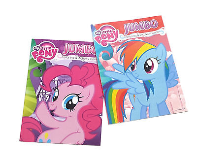 My Little Pony Coloring Book Kids Activity Books Pinky Pie Rainbow Dash Set  Of 2 EBay