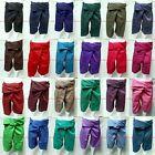 Original Thai Fisherman Pants Trouser YOGA Rayon Cotton 3/4 Long Warp Unisex