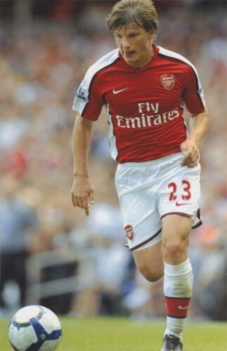 Andrey Arshavin 12x8 unsigned photo Arsenal