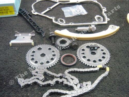Vauxhall Astra Vectra Zafira VX220 2.2 Z22SE timing chain kit avec engrenages