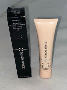Giorgio Armani Neo Nude True-To-Skin Natural Glow Foundation, 1.1 oz. & Reviews - Makeup