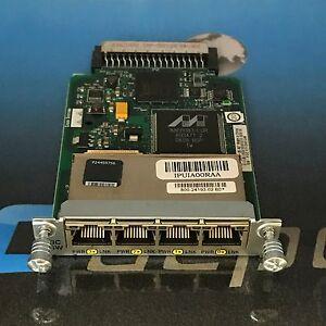 Cisco-Genuine-HWIC-4ESW-4-Port-10-100-Ethernet-Switch-Interface-Card-w-HOLOGRAM