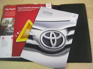 toyota avensis owners manual pdf