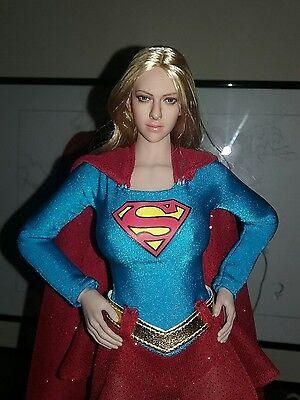 "Custom PHICEN SuperGirl Steelbody Seamless Body Female 1/6 Figure 12"" Tonner DC"